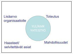Kuva 5. Kumppanuusoppimisryhmä-tuotos (mukaellen Toiviainen 2009).