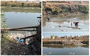 Balkhu riverside environment
