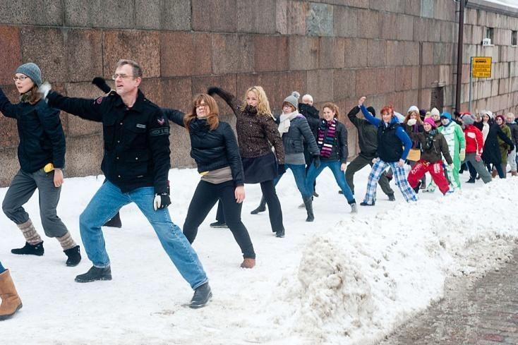 Kuva Helsinki tanssii -tapahtumasta, kuvaaja Eetu Ahonen