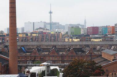 Kuvituskuva: näkymä kaupungin yli