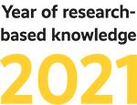 Tutkitun tiedon teemavuoden logo